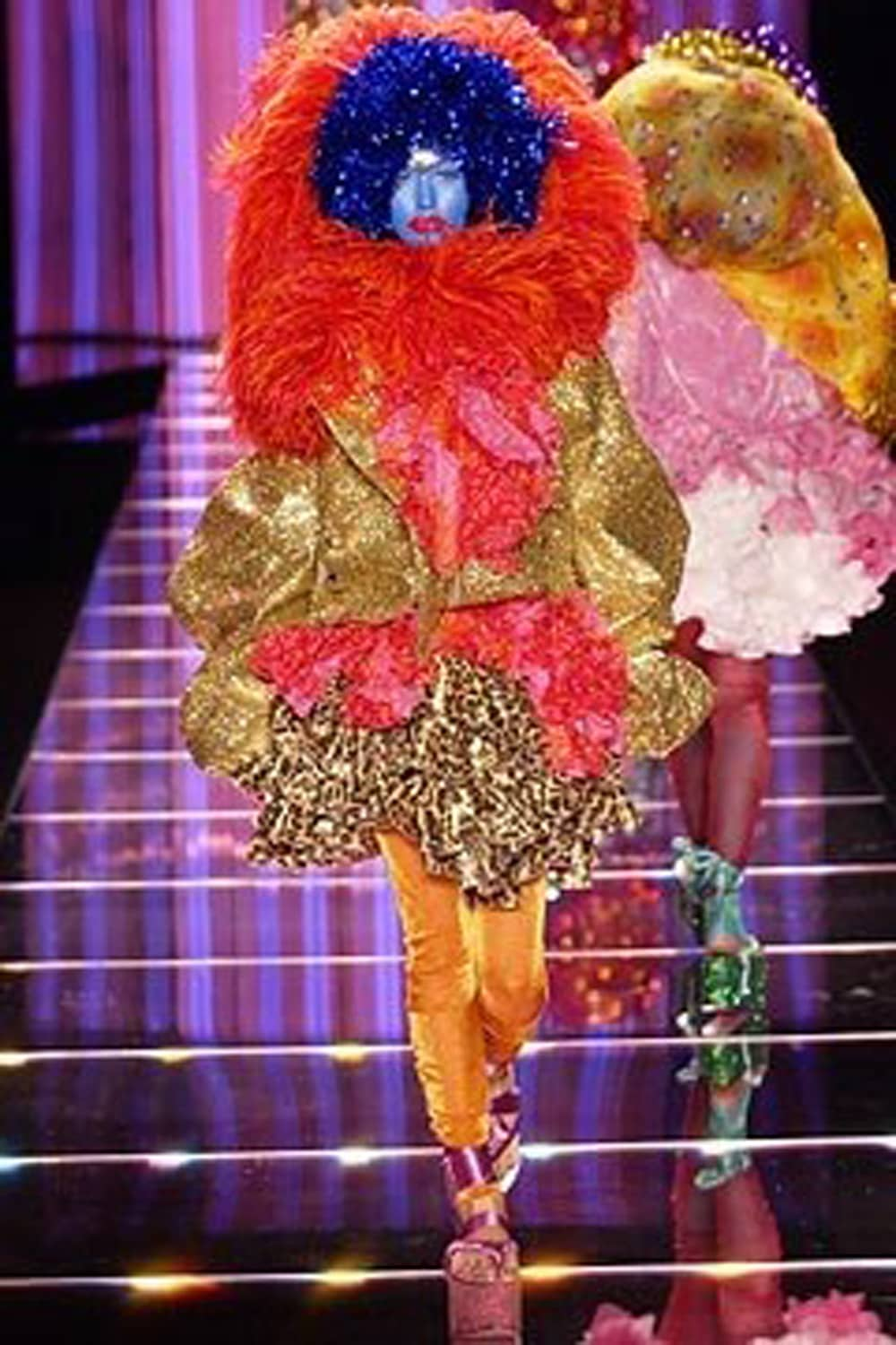"JOHN GALLIANO READY-TO-WEAR SPRING-SUMMER 2003. RUNWAY MAGAZINE ® Collections Special Selection ""Fashion Treasure"". RUNWAY MAGAZINE ® Collections. RUNWAY NOW / RUNWAY NEW"