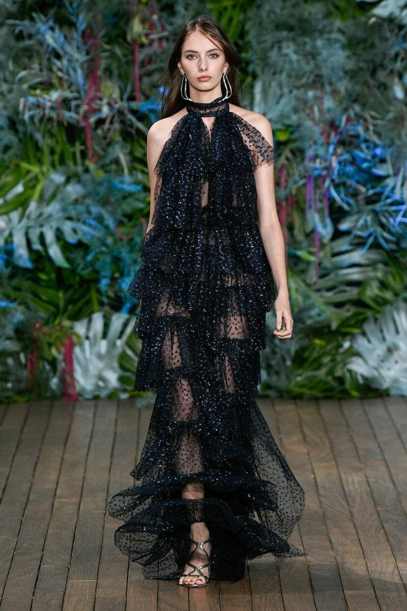 Alberta Ferretti Cruise 2020 Monaco. RUNWAY MAGAZINE ® Collections. RUNWAY NOW / RUNWAY NEW