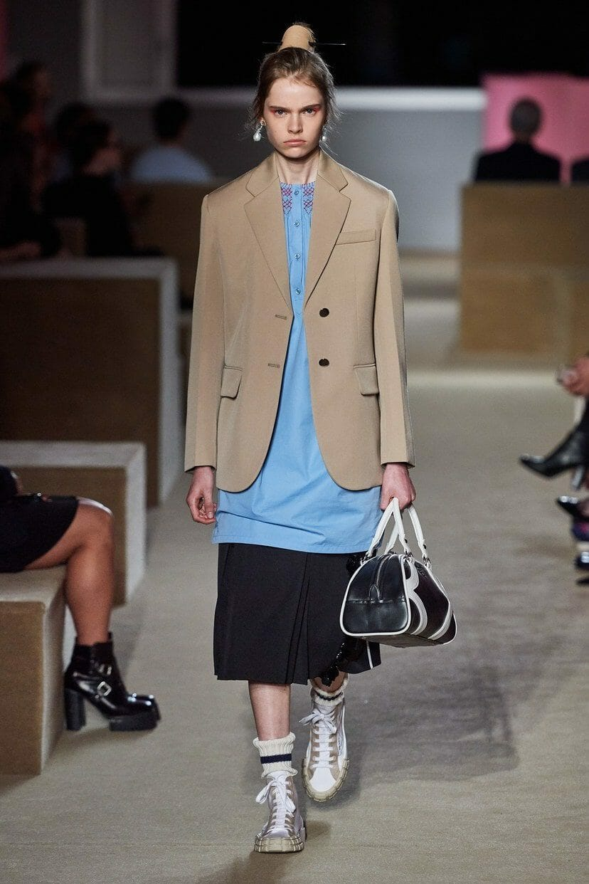 Prada Cruise 2020 New York. Prada US's headquarters, Piano Factory. RUNWAY MAGAZINE ® Collections. RUNWAY NOW / RUNWAY NEW