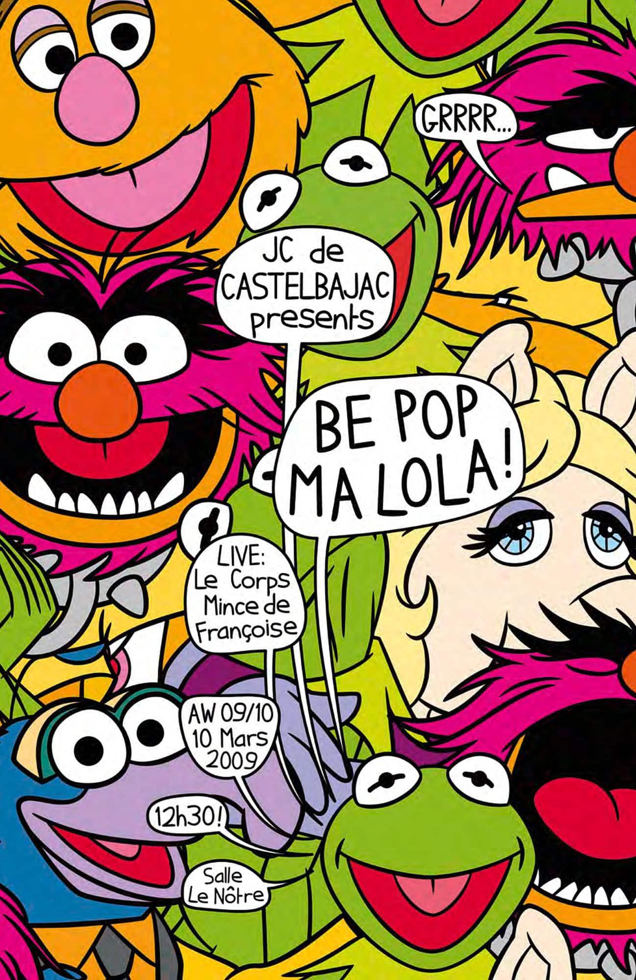 JC de Castelbajac Winter 2009-2010. Be Pop Ma Lola Collection. RUNWAY MAGAZINE ® Collections. RUNWAY NOW / RUNWAY NEW