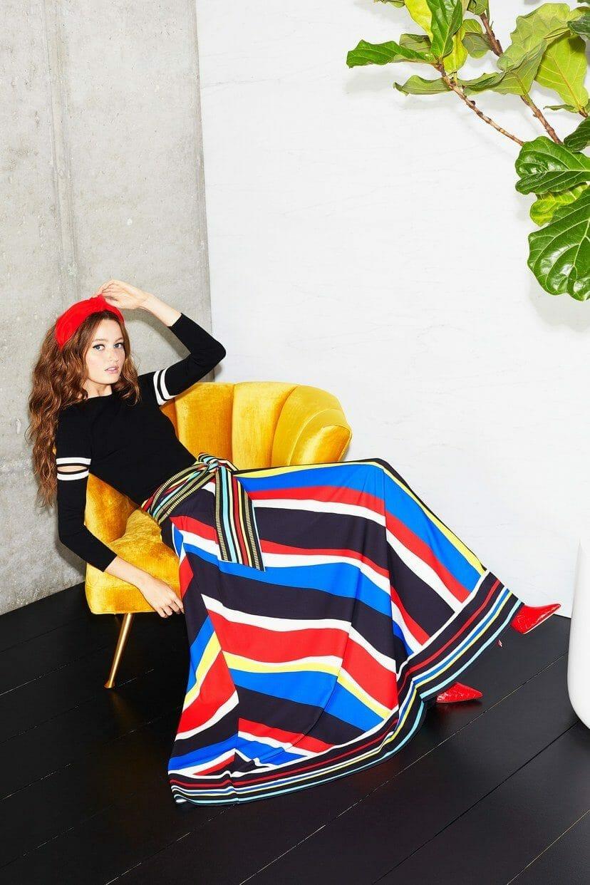 Alice + Olivia Cruise 2020 New York Resort Collection. RUNWAY MAGAZINE ® Collections. RUNWAY NOW / RUNWAY NEW