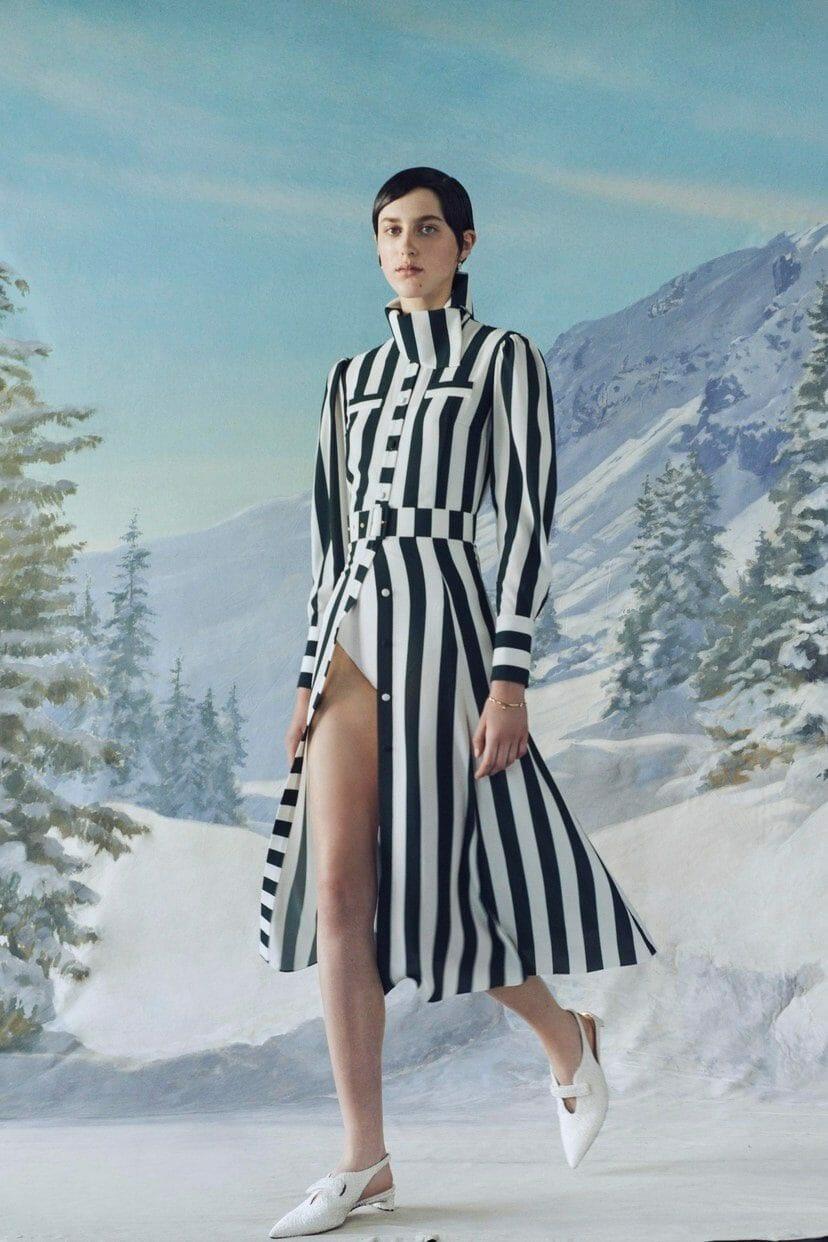 Emilia Wickstead Cruise 2020 London Resort collection. RUNWAY MAGAZINE ® Collections. RUNWAY NOW / RUNWAY NEW