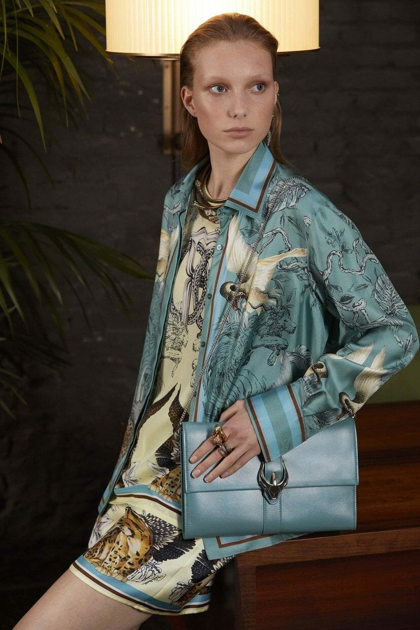 Roberto Cavalli Cruise 2020 Milan Resort. RUNWAY MAGAZINE ® Collections. RUNWAY NOW / RUNWAY NEW