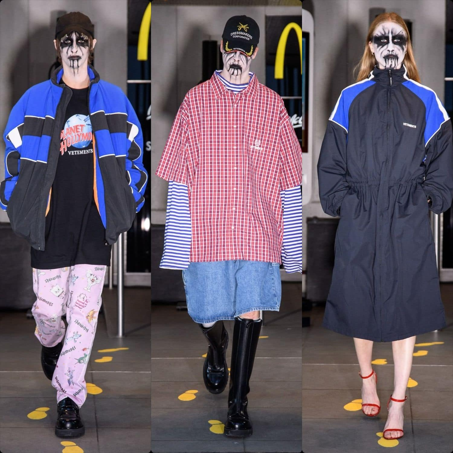 Vetements Menswear Spring Summer 2020 Paris. RUNWAY MAGAZINE ® Collections. RUNWAY NOW / RUNWAY NEW