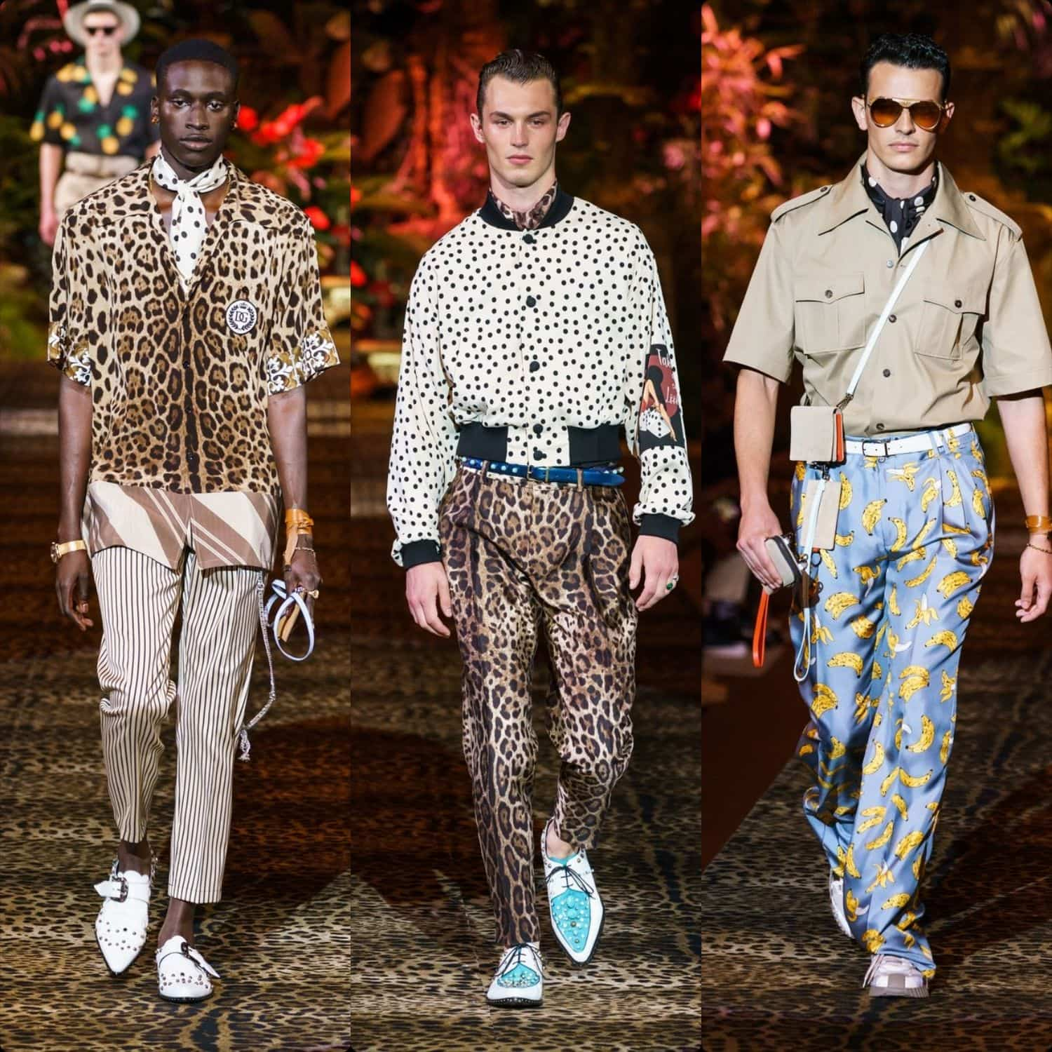 Dolce & Gabbana Menswear Spring-Summer 2020 Milan. RUNWAY MAGAZINE ® Collections. RUNWAY NOW / RUNWAY NEW