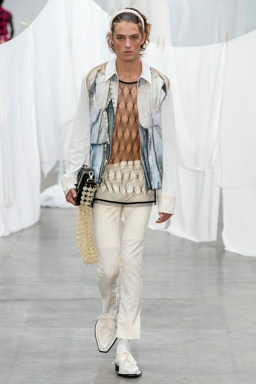 Stefan Cooke Menswear Spring-Summer 2020 London. RUNWAY MAGAZINE ® Collections. RUNWAY NOW / RUNWAY NEW
