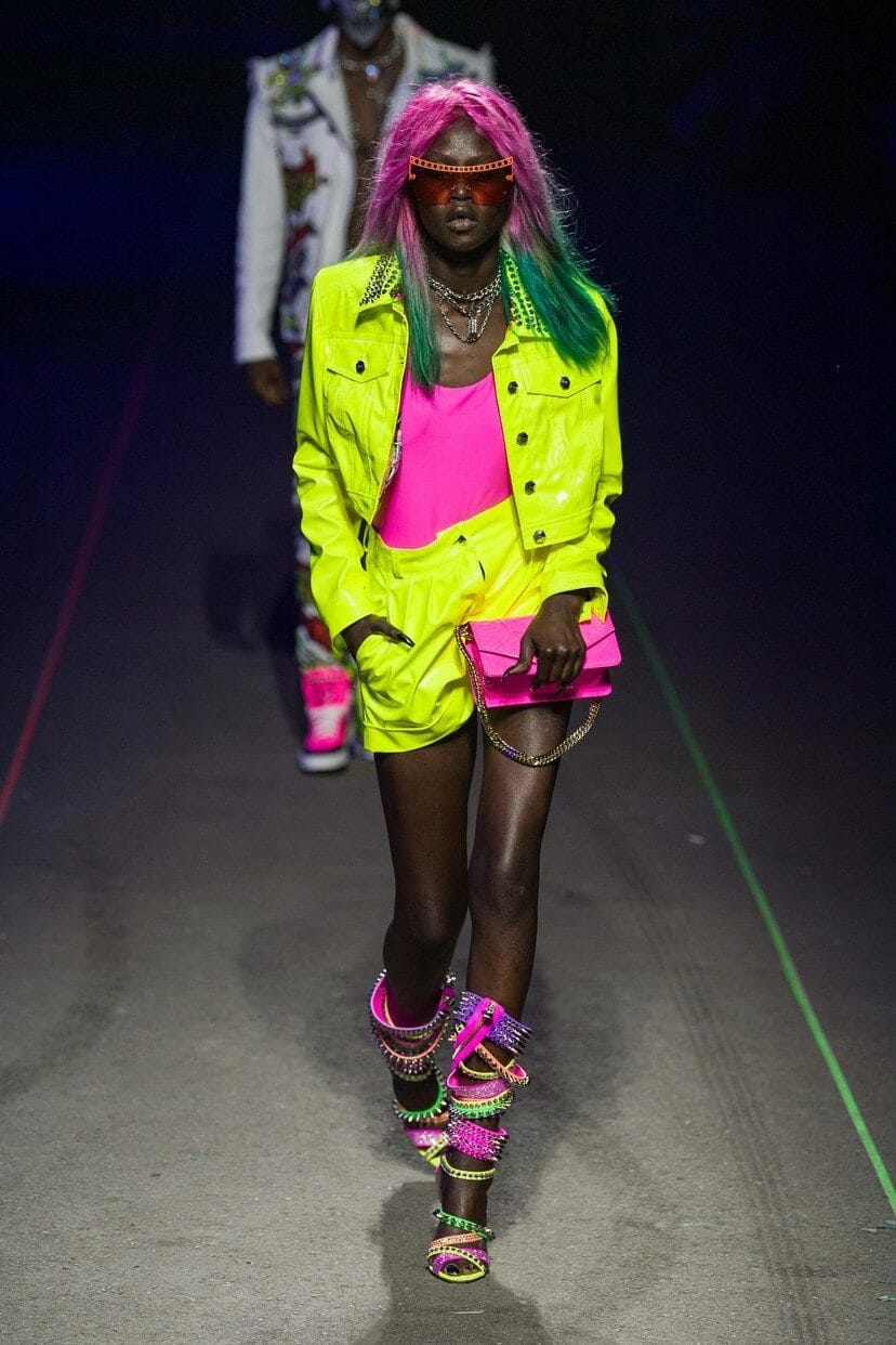 "Philipp Plein Menswear Spring-Summer 2020 Milan. ""KISS"" hard rock band collection. RUNWAY MAGAZINE ® Collections. RUNWAY NOW / RUNWAY NEW"