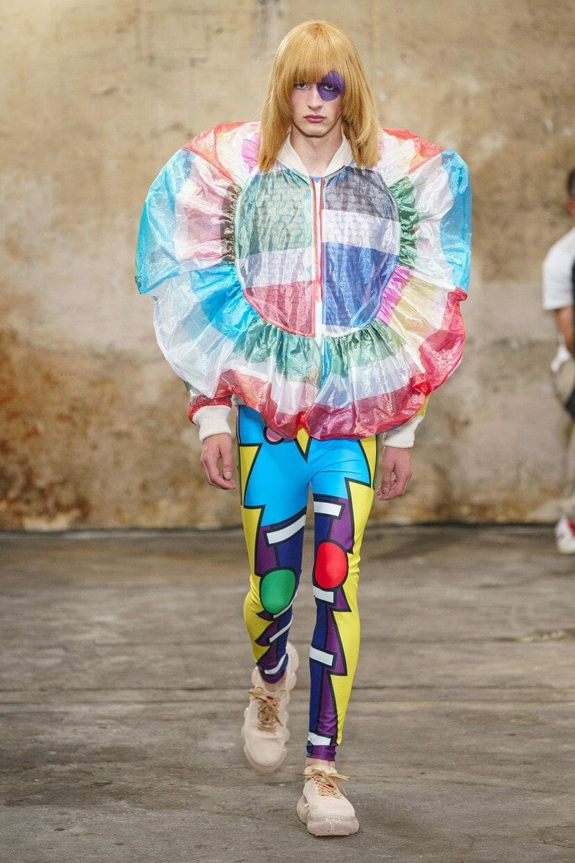 Walter Van Beirendonck Menswear Spring Summer 2020 Paris. RUNWAY MAGAZINE ® Collections. RUNWAY NOW / RUNWAY NEW