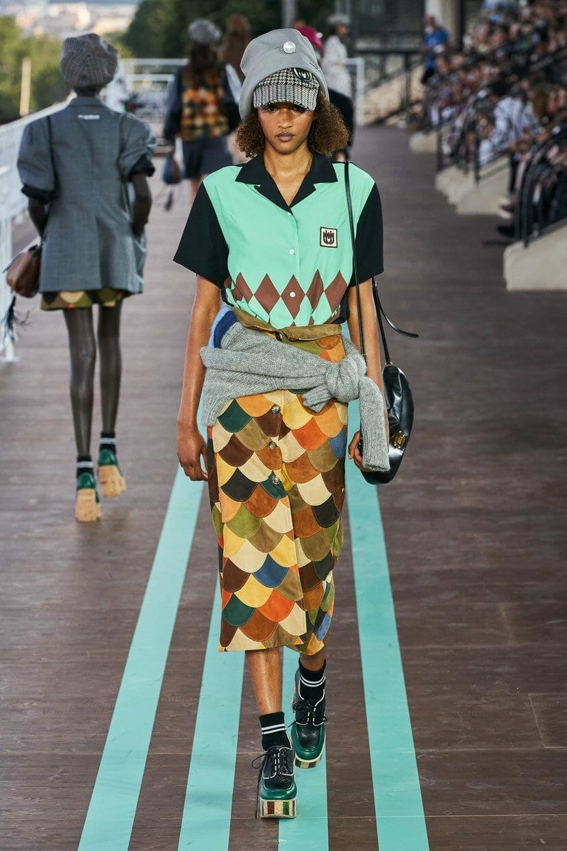 Miu Miu Cruise 2020 Paris Resort. RUNWAY MAGAZINE ® Collections. RUNWAY NOW / RUNWAY NEW