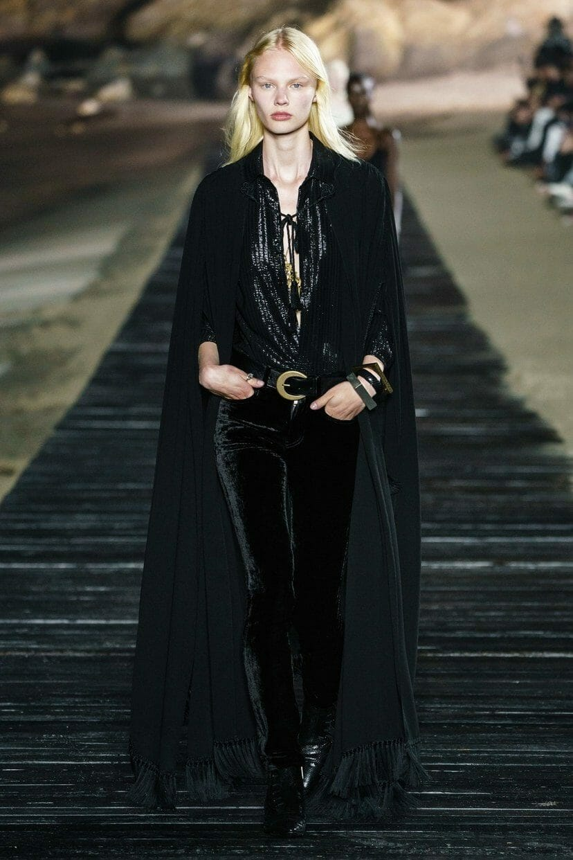 Saint Laurent Ready-to-Wear Spring Summer 2020 Los Angeles. RUNWAY MAGAZINE ® Collections. RUNWAY NOW / RUNWAY NEW