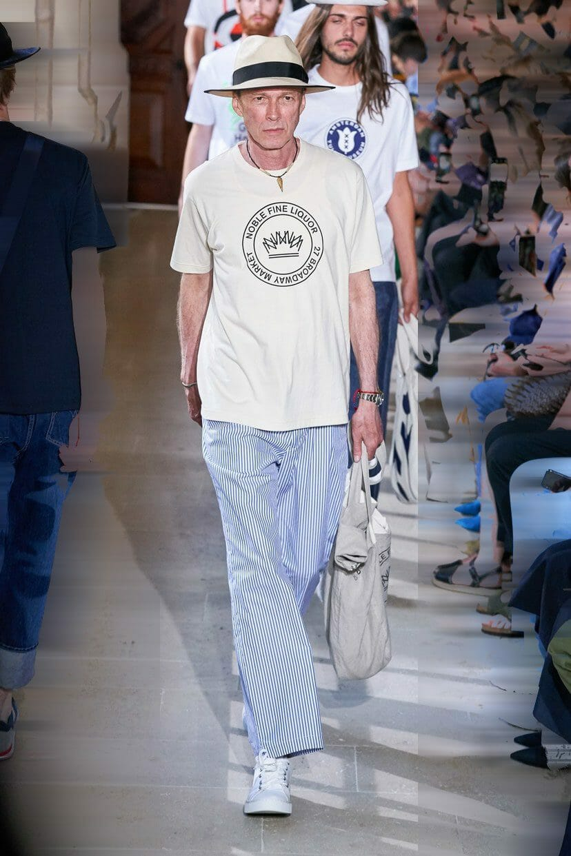 Patrick Cordier-Rettig for Junya Watanabe Spring Summer 2020. RUNWAY MAGAZINE ® Collections. RUNWAY NOW / RUNWAY NEW