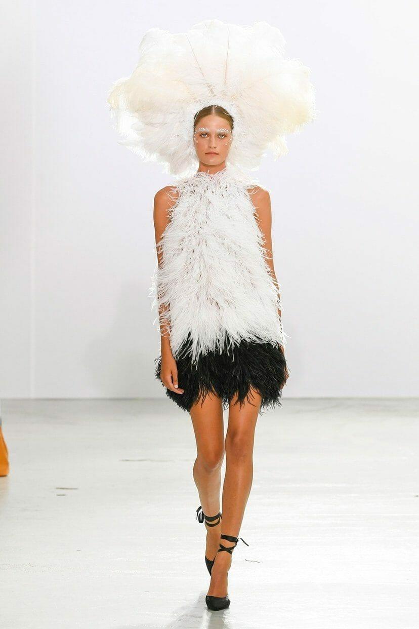 Celia Kritharioti Haute Couture Fall-Winter 2019-2020. RUNWAY MAGAZINE ® Collections. RUNWAY NOW / RUNWAY NEW