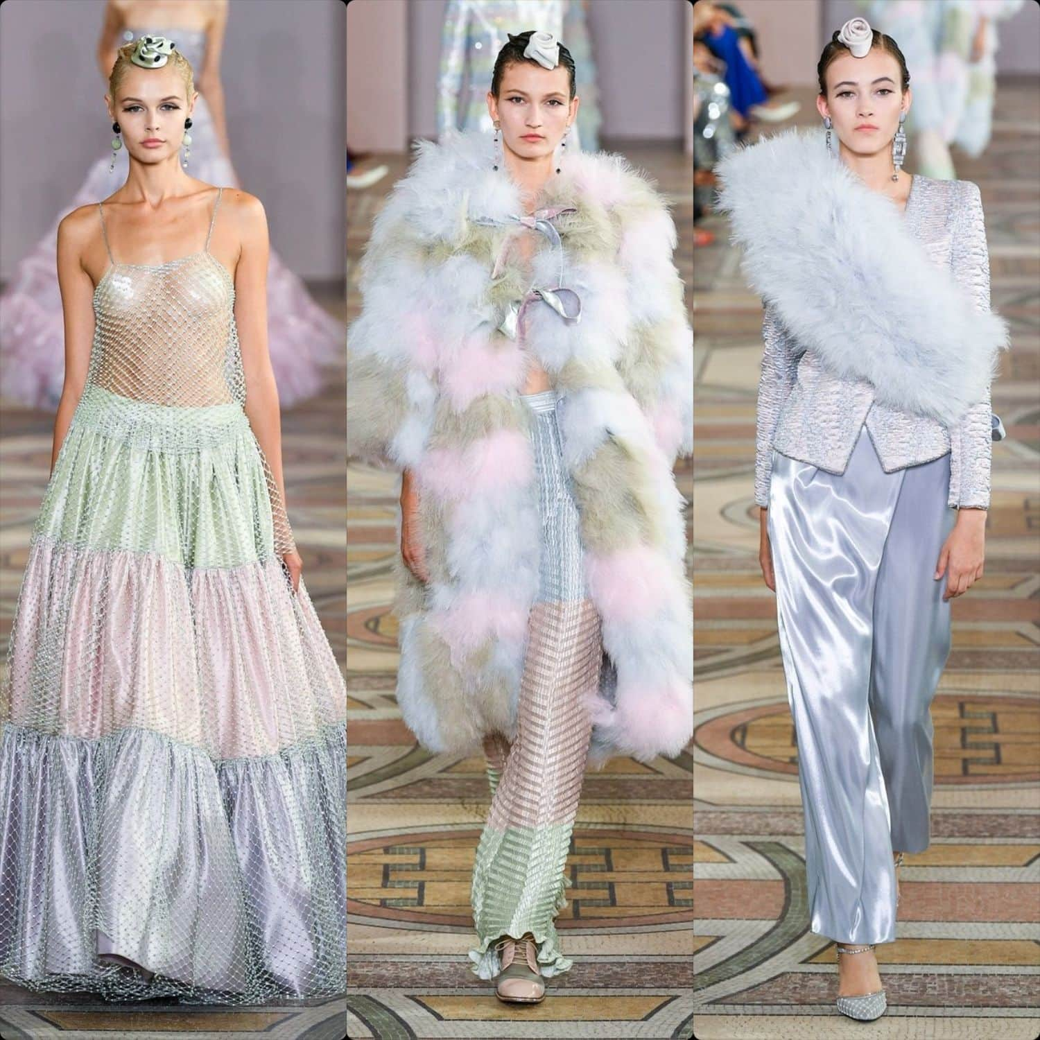 Armani Privee Haute Couture Fall-Winter 2019-2020. RUNWAY MAGAZINE ® Collections. RUNWAY NOW / RUNWAY NEW