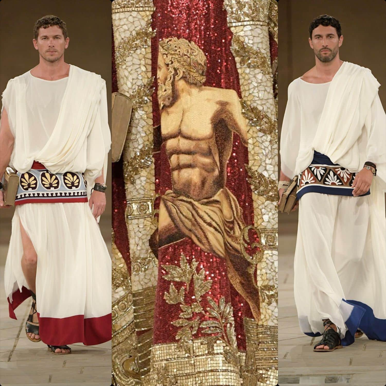 Dolce & Gabbana Alta Sartoria Palazzo dei Gesuiti Sciacca Fall-Winter 2019-2020. RUNWAY MAGAZINE ® Collections. RUNWAY NOW / RUNWAY NEW