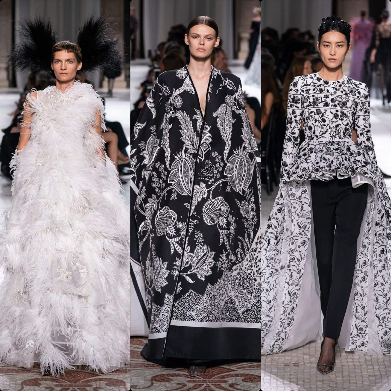 Givenchy Haute Couture Fall-Winter 2019-2020. RUNWAY MAGAZINE ® Collections. RUNWAY NOW / RUNWAY NEW