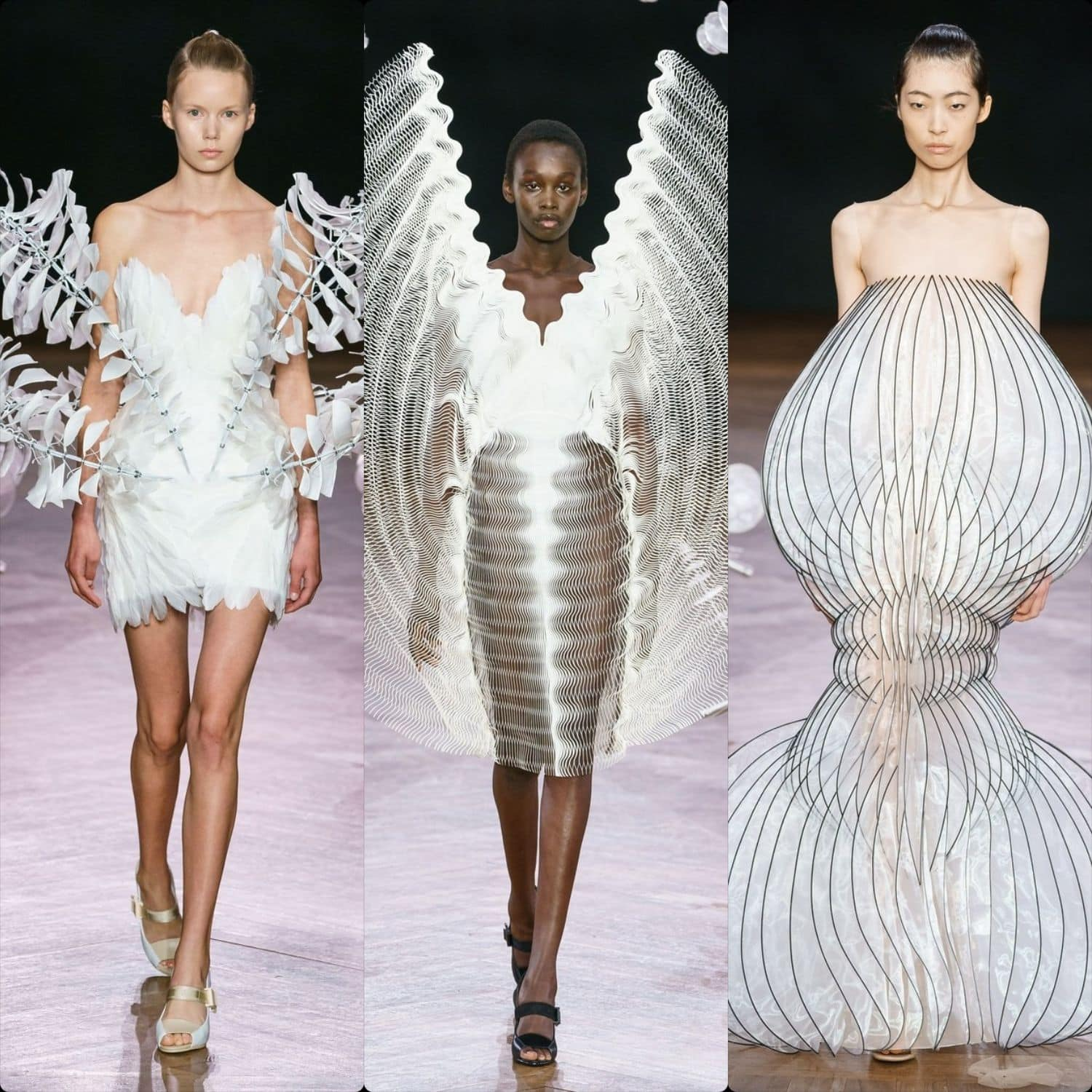 Iris van Herpen Haute Couture Fall-Winter 2019-2020. RUNWAY MAGAZINE ® Collections. RUNWAY NOW / RUNWAY NEW