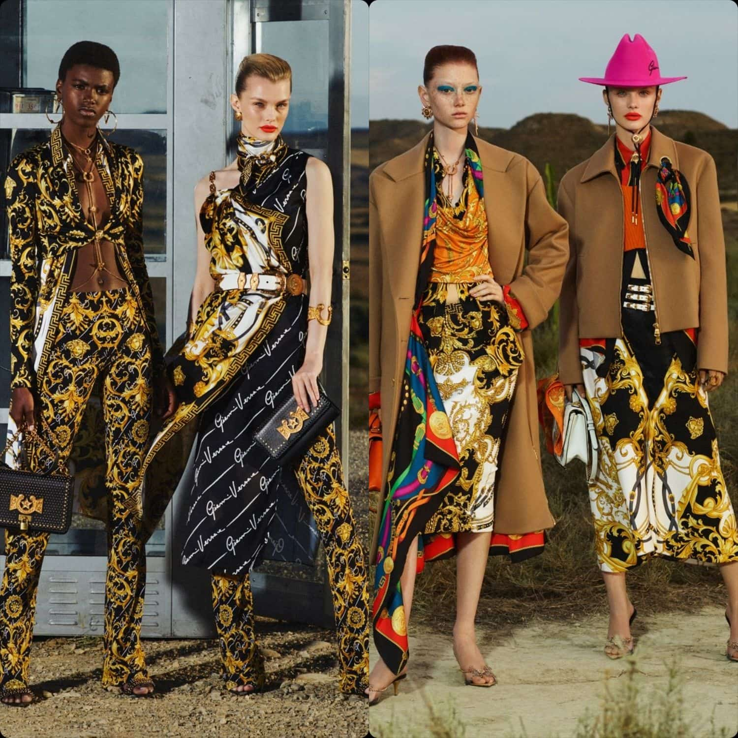 Versace Cruise 2020 Milan. RUNWAY MAGAZINE ® Collections. RUNWAY NOW / RUNWAY NEW