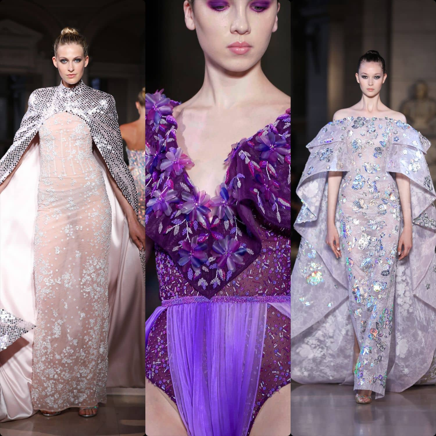 Rami Kadi Haute Couture Fall-Winter 2019-2020. RUNWAY MAGAZINE ® Collections. RUNWAY NOW / RUNWAY NEW