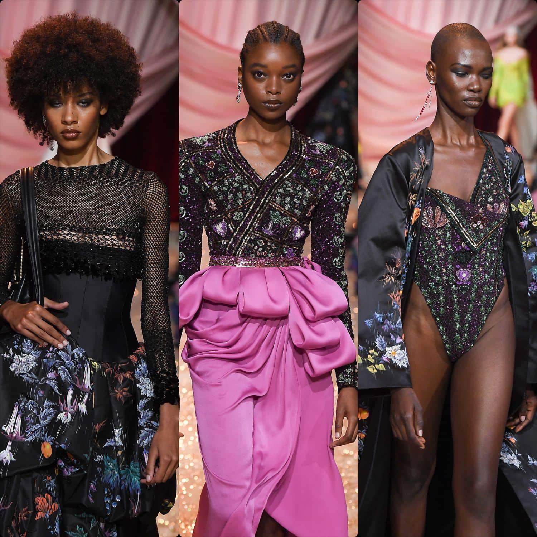 Ulyana Sergeenko Haute Couture Fall-Winter 2019-2020. RUNWAY MAGAZINE ® Collections. RUNWAY NOW / RUNWAY NEW