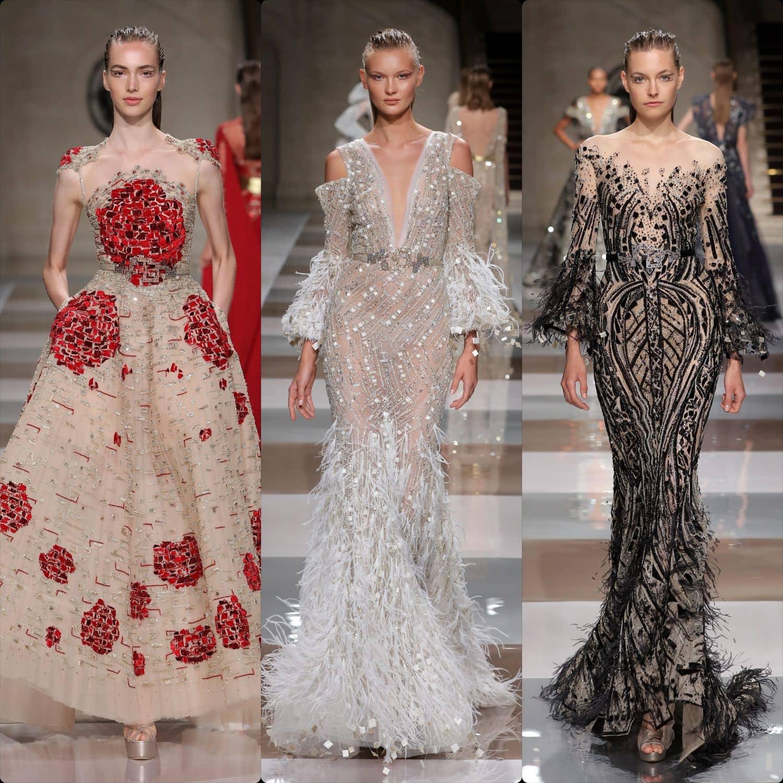 Ziad Nakad Haute Couture Fall-Winter 2019-2020. RUNWAY MAGAZINE ® Collections. RUNWAY NOW / RUNWAY NEW