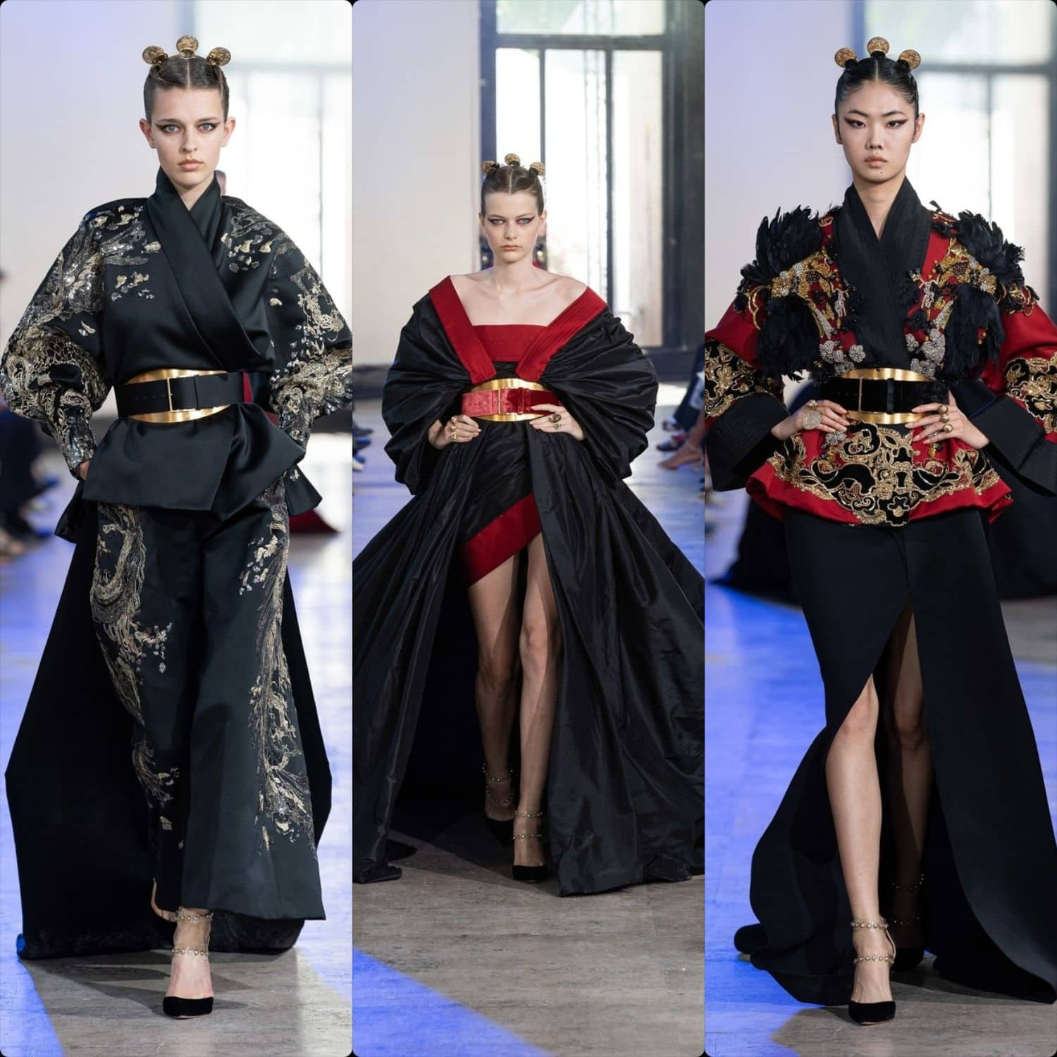"""Elie Saab Haute Couture Fall-Winter 2019-2020. First """"Chinese"""" collection. RUNWAY MAGAZINE ® Collections. RUNWAY NOW / RUNWAY NEW"""