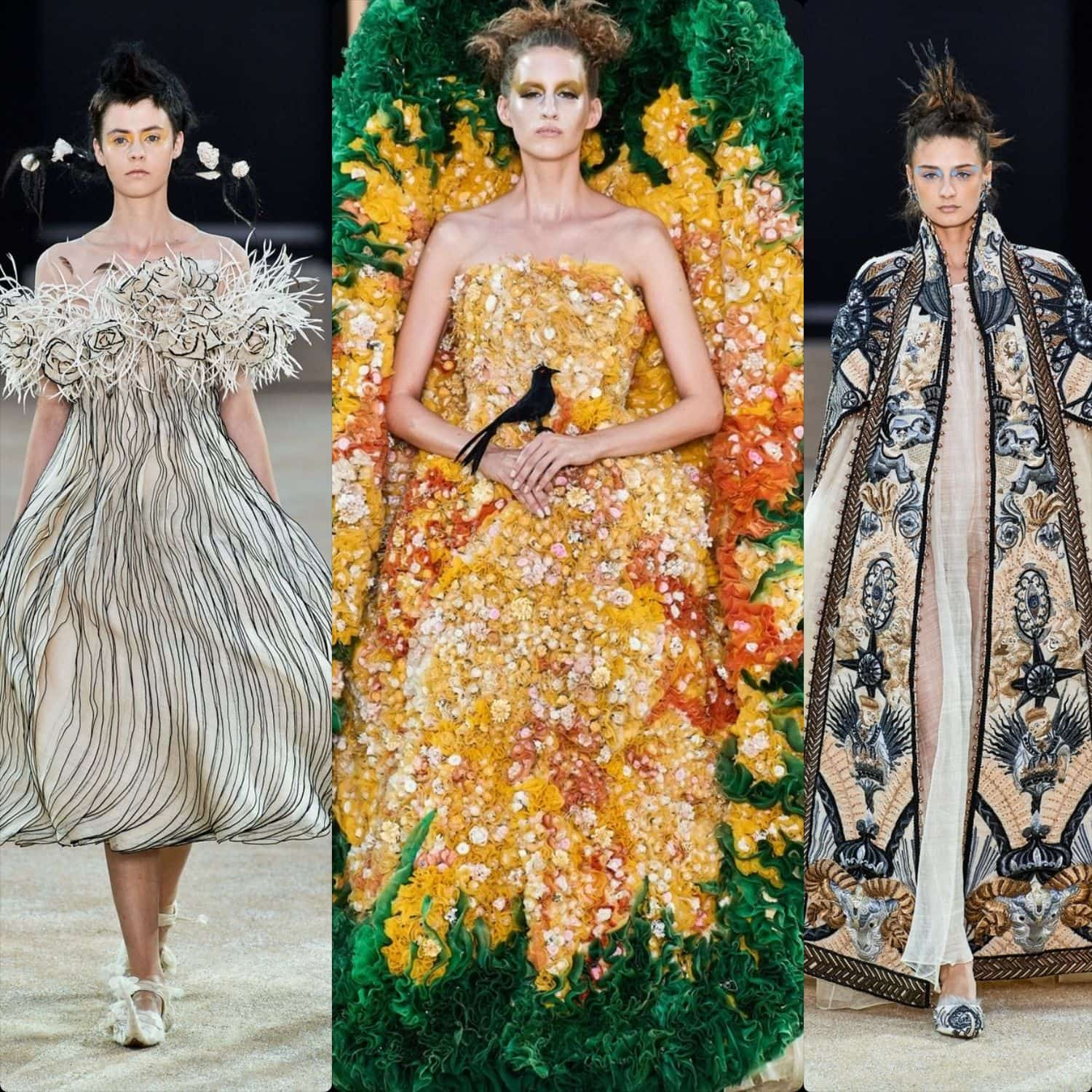 Guo Pei Haute Couture Fall-Winter 2019-2020. RUNWAY MAGAZINE ® Collections. RUNWAY NOW / RUNWAY NEW