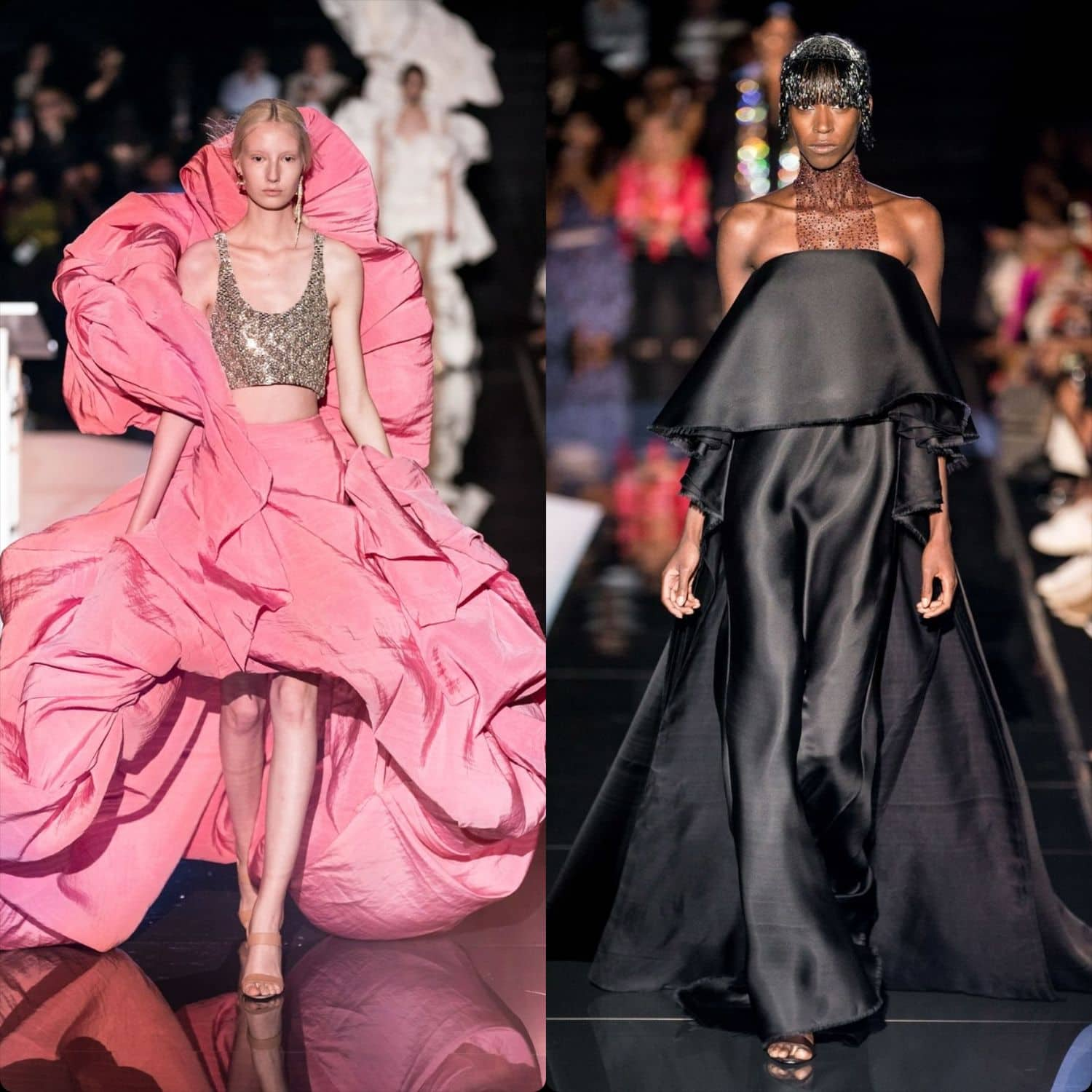 Schiaparelli Haute Couture Fall-Winter 2019-2020. RUNWAY MAGAZINE ® Collections. RUNWAY NOW / RUNWAY NEW