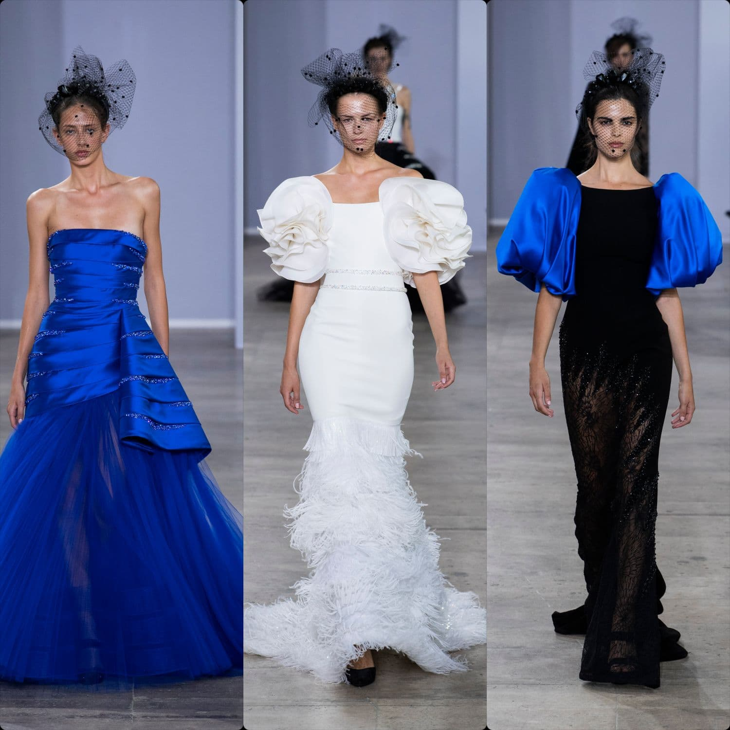 Georges Chakra Haute Couture Fall-Winter 2019-2020. RUNWAY MAGAZINE ® Collections. RUNWAY NOW / RUNWAY NEW