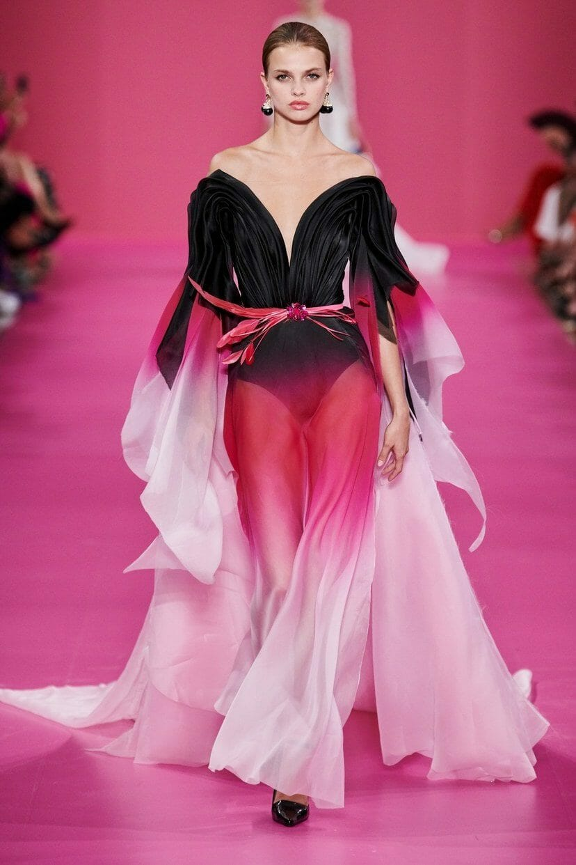 Georges Hobeika Haute Couture Fall-Winter 2019-2020. RUNWAY MAGAZINE ® Collections. RUNWAY NOW / RUNWAY NEW