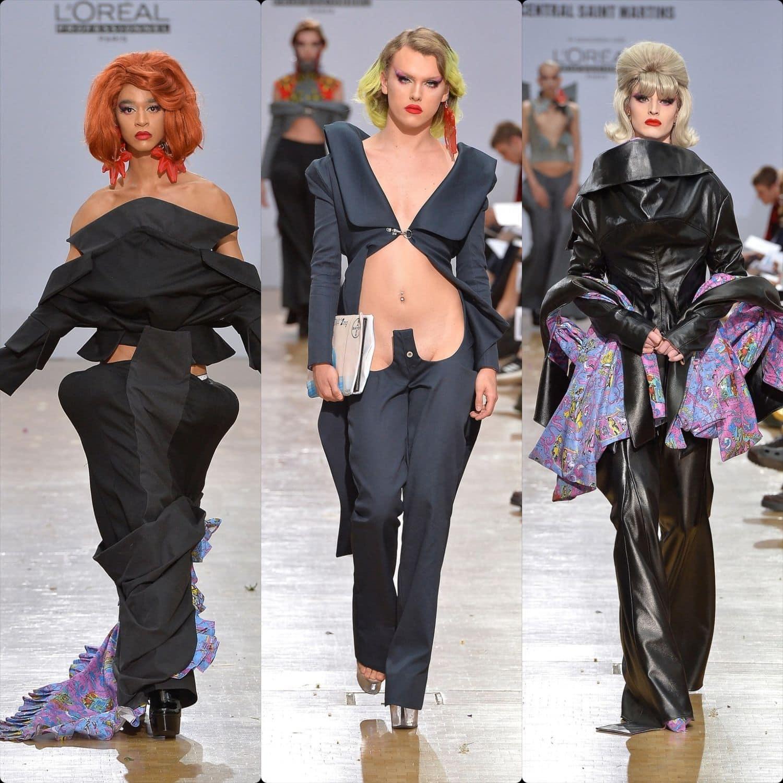 Central Saint Martins Spring Summer 2020 London. Designer Alejandra Munoz Pons. RUNWAY MAGAZINE ® Collections. RUNWAY NOW / RUNWAY NEW