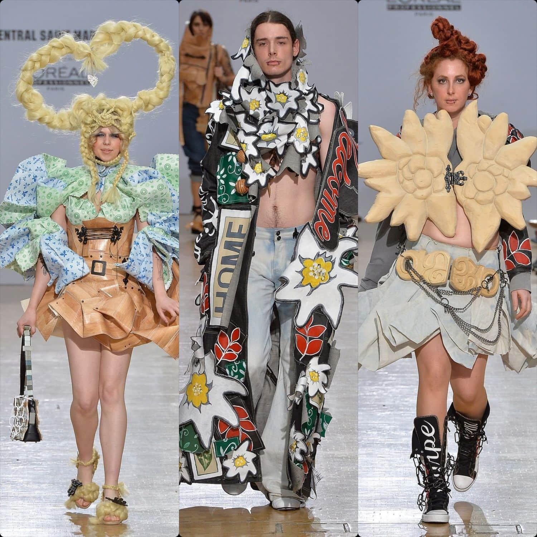 Central Saint Martins Spring Summer 2020 London. Designer Andrea Mayer. RUNWAY MAGAZINE ® Collections. RUNWAY NOW / RUNWAY NEW