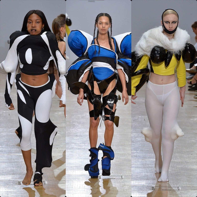 Central Saint Martins Spring Summer 2020 London. Designer Danni Harris. RUNWAY MAGAZINE ® Collections. RUNWAY NOW / RUNWAY NEW