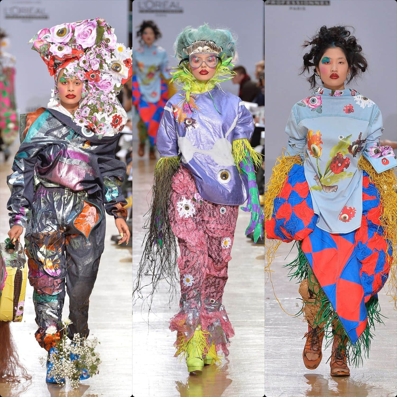Central Saint Martins Spring Summer 2020 London. Designer David Brunnbauer. RUNWAY MAGAZINE ® Collections. RUNWAY NOW / RUNWAY NEW