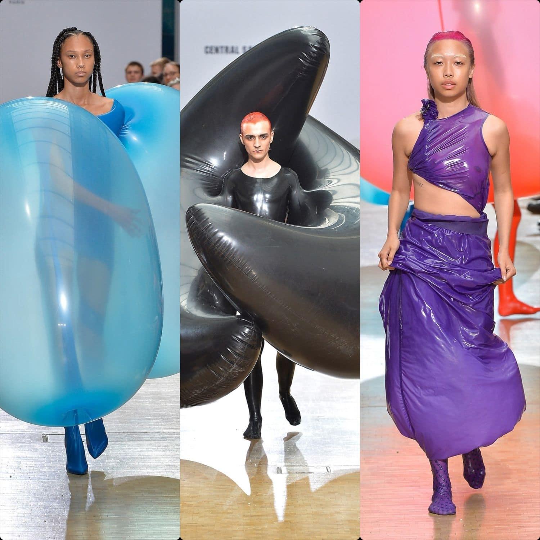 Central Saint Martins Spring Summer 2020 London. Designer Fredrik-Tjaerandsen. RUNWAY MAGAZINE ® Collections. RUNWAY NOW / RUNWAY NEW