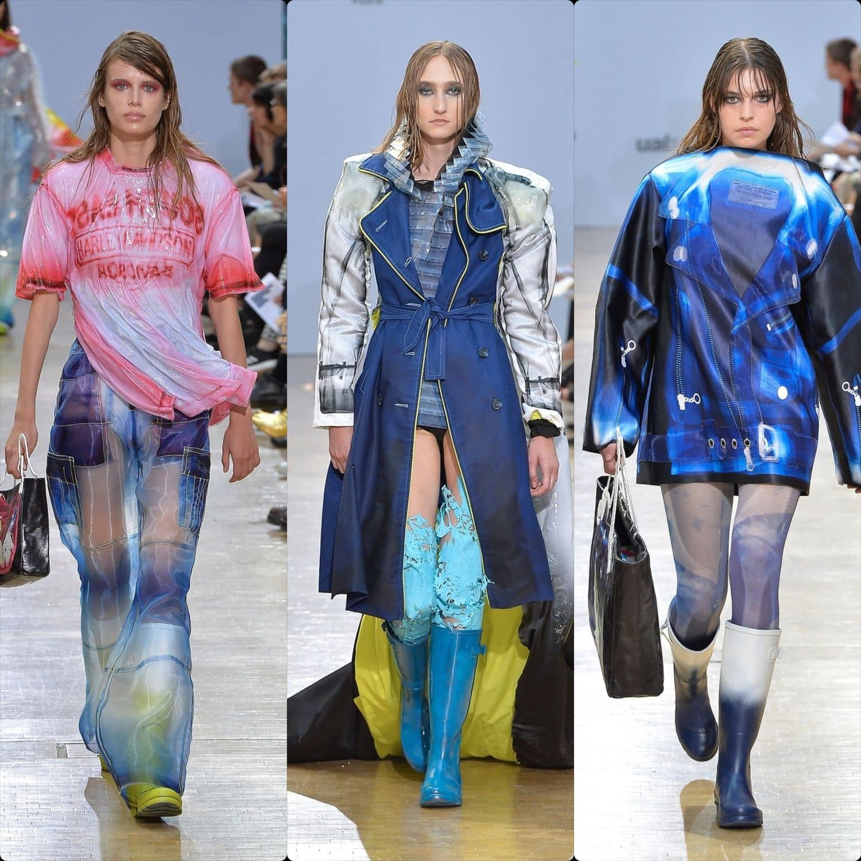 Central Saint Martins Spring Summer 2020 London. Designer Grace Jean Louis Constantine. RUNWAY MAGAZINE ® Collections. RUNWAY NOW / RUNWAY NEW