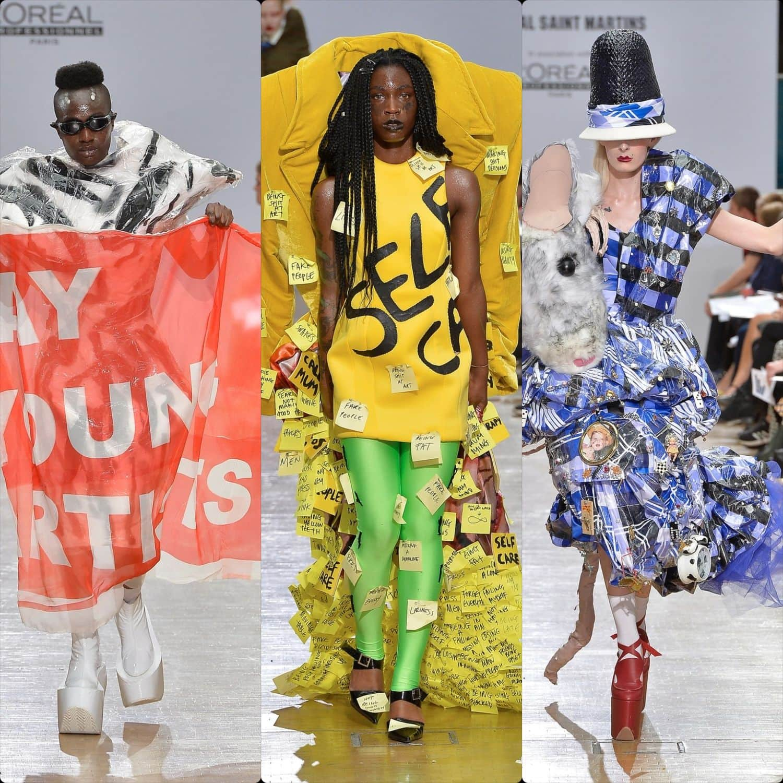Central Saint Martins Spring Summer 2020 London. Designer Hatti Rees. RUNWAY MAGAZINE ® Collections. RUNWAY NOW / RUNWAY NEW
