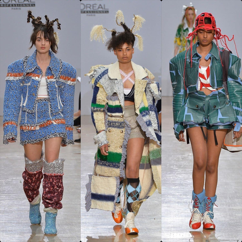 Central Saint Martins Spring Summer 2020 London. Designer Hikaru Kodama. RUNWAY MAGAZINE ® Collections. RUNWAY NOW / RUNWAY NEW