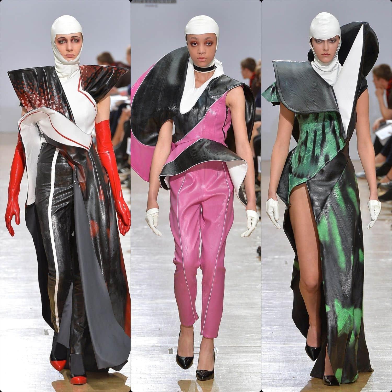 Central Saint Martins Spring Summer 2020 London. Designer Jamie Challinor. RUNWAY MAGAZINE ® Collections. RUNWAY NOW / RUNWAY NEW