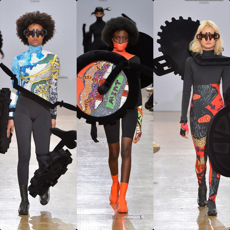 Central Saint Martins Spring Summer 2020 London. Designer Jeeyon Lee. RUNWAY MAGAZINE ® Collections. RUNWAY NOW / RUNWAY NEW