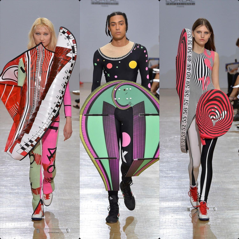 Central Saint Martins Spring Summer 2020 London. Designer Laino Bilbao Ugarte. RUNWAY MAGAZINE ® Collections. RUNWAY NOW / RUNWAY NEW