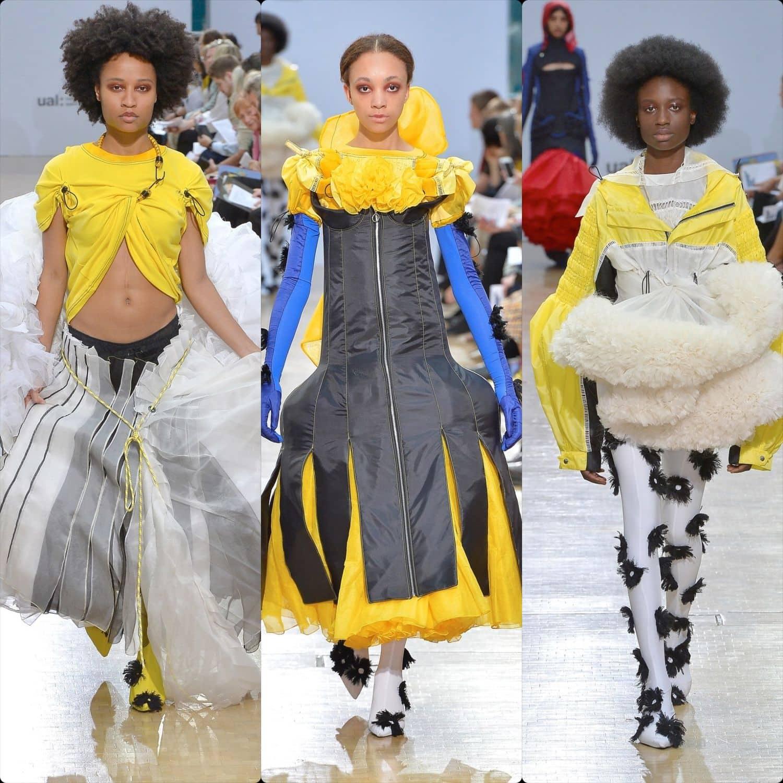 Central Saint Martins Spring Summer 2020 London. Designer Liza Keane. RUNWAY MAGAZINE ® Collections. RUNWAY NOW / RUNWAY NEW