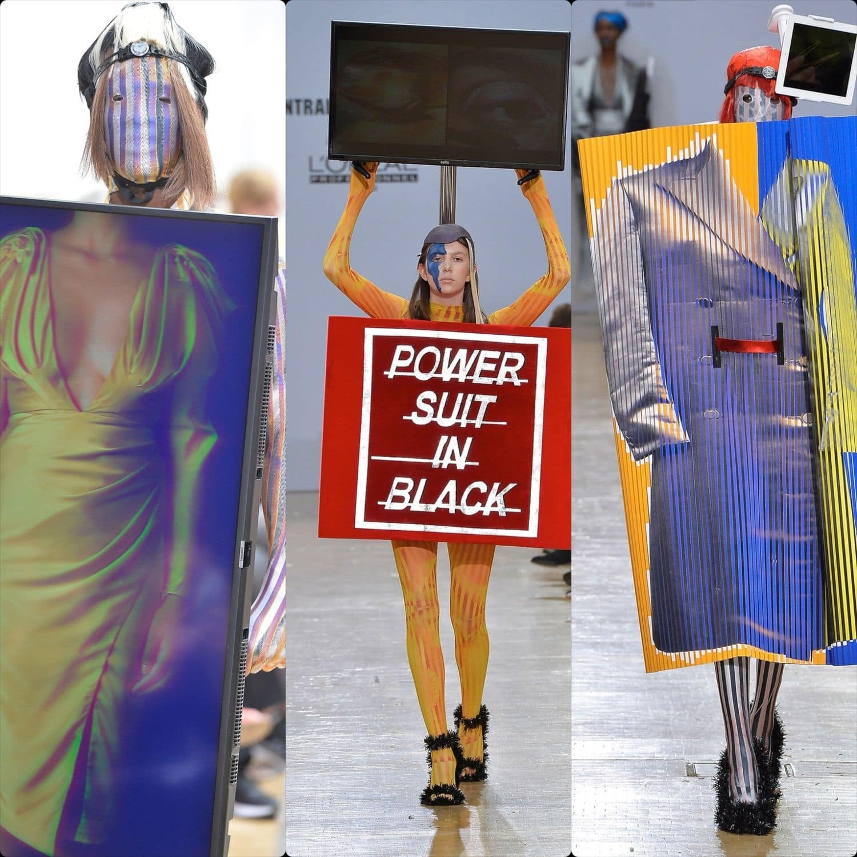Central Saint Martins Spring Summer 2020 London. Designer Nicole Zisman. RUNWAY MAGAZINE ® Collections. RUNWAY NOW / RUNWAY NEW