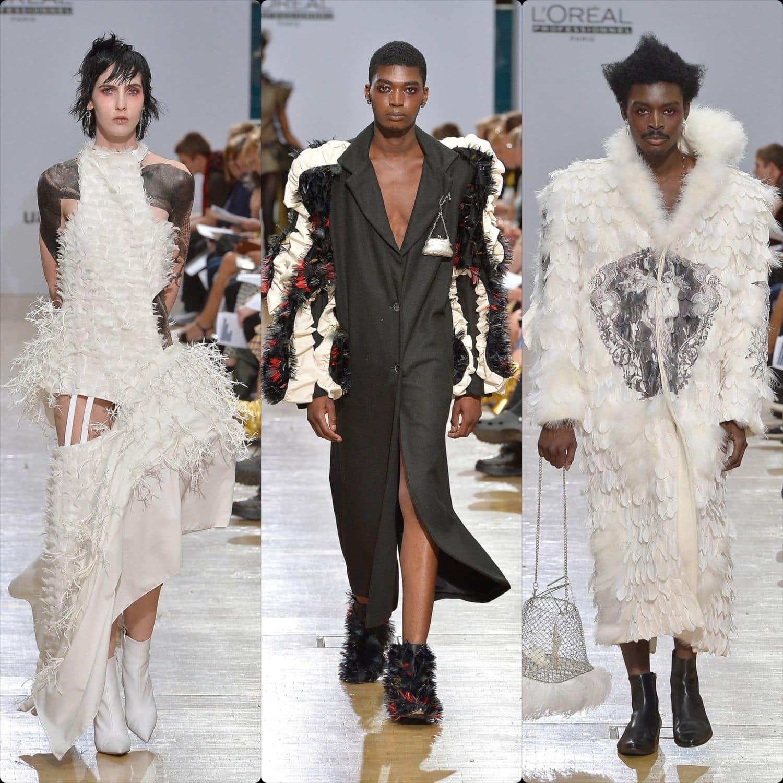 Central Saint Martins Spring Summer 2020 London. Designer Sophia Orlandi Faria. RUNWAY MAGAZINE ® Collections. RUNWAY NOW / RUNWAY NEW