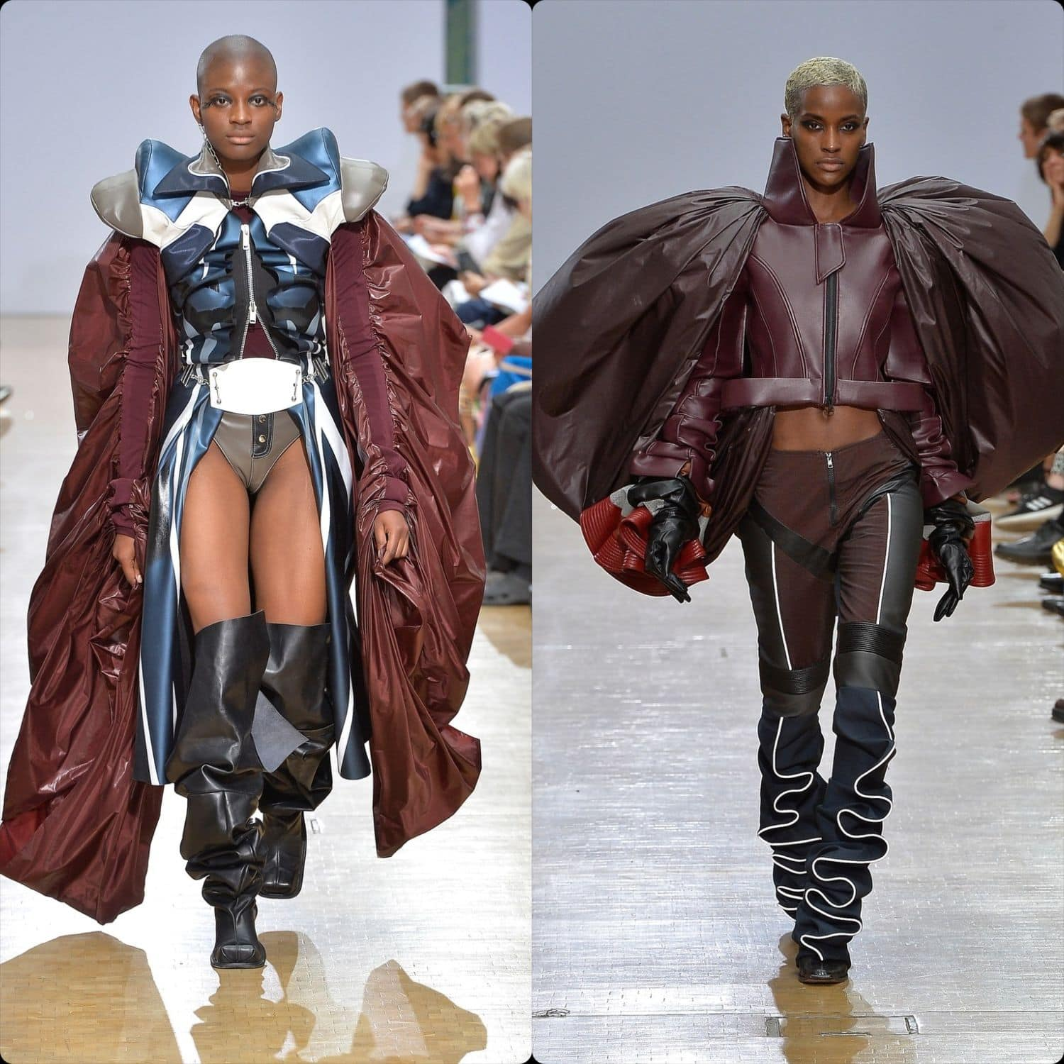 Central Saint Martins Spring Summer 2020 London. Designer Vy-Cutting. RUNWAY MAGAZINE ® Collections. RUNWAY NOW / RUNWAY NEW