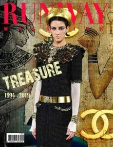 RUNWAY MAGAZINE 2019 Paris Cover - Chanel Treasure