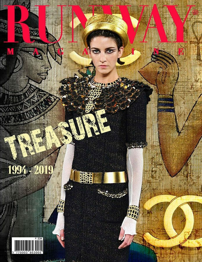 RUNWAY MAGAZINE 2019 Paris Cover - Chanel Treasure