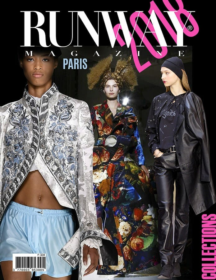 RUNWAY MAGAZINE 2018 Paris Cover