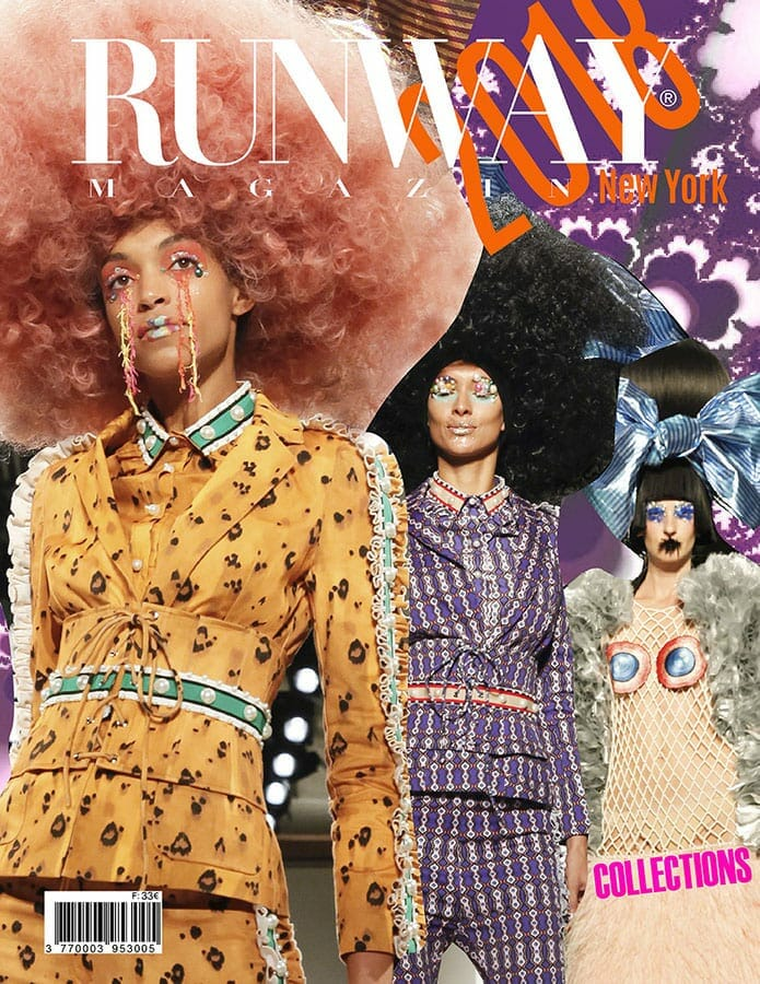 RUNWAY MAGAZINE 2018 New York Cover
