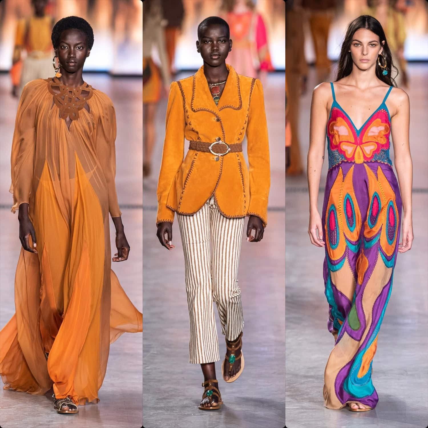 Alberta Ferretti Spring Summer 2020 Milan. RUNWAY MAGAZINE ® Collections. RUNWAY NOW / RUNWAY NEW