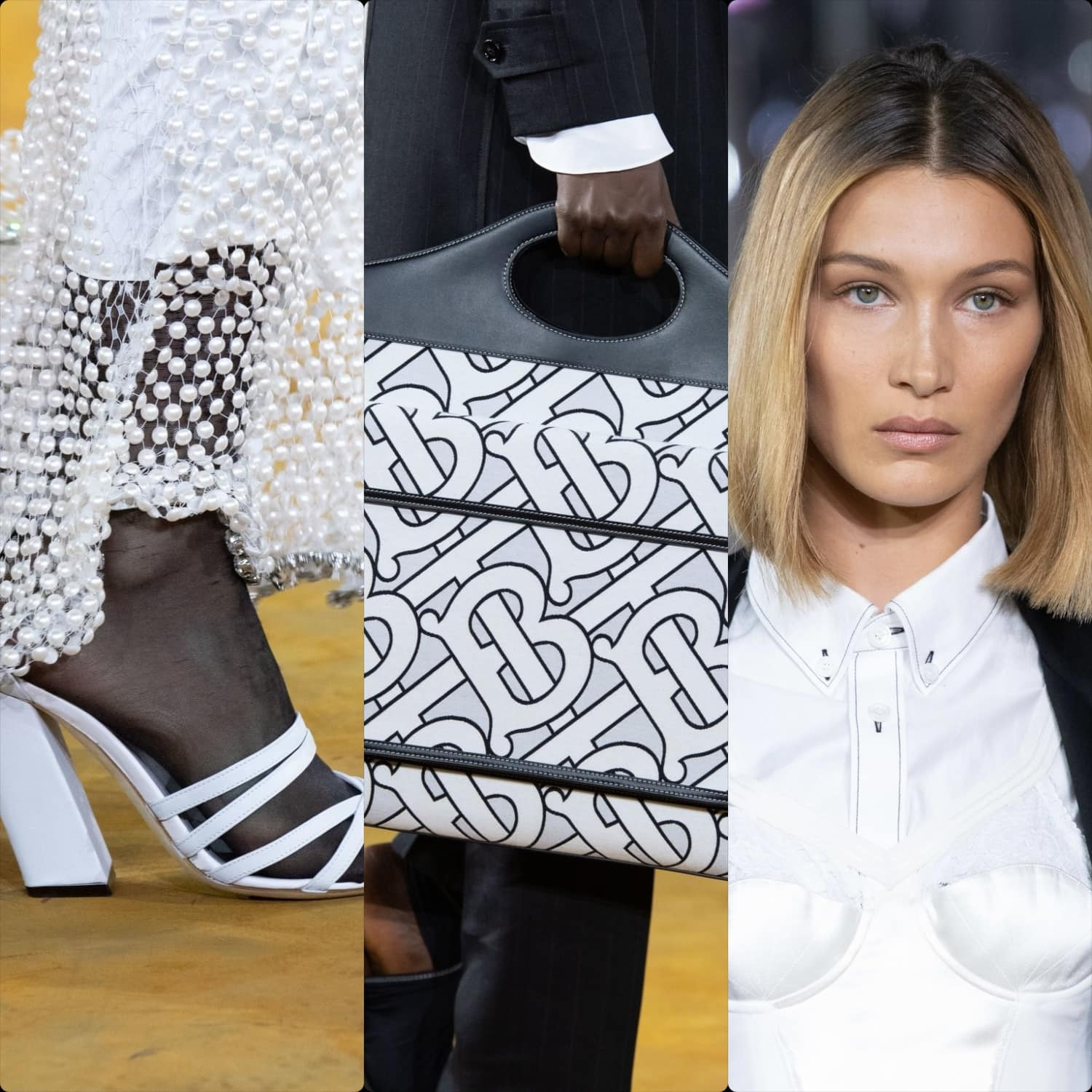 Burberry Spring Summer 2020 London. RUNWAY MAGAZINE ® Collections. RUNWAY NOW / RUNWAY NEW